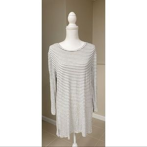 Old Navy Luxe Striped Tunic Tee - L